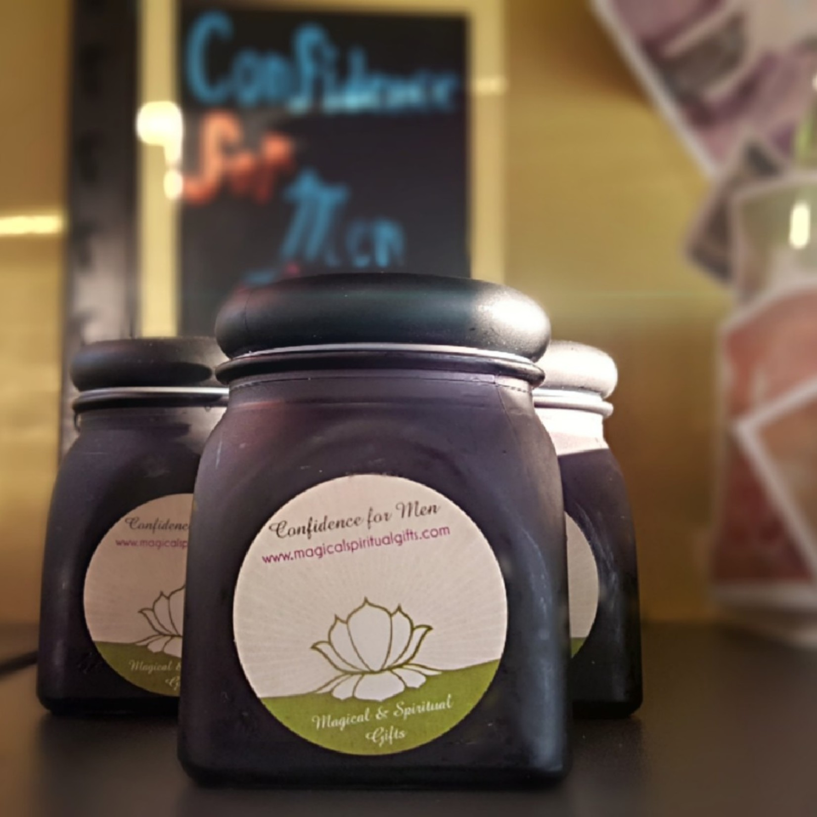 Confidence For Men Candle