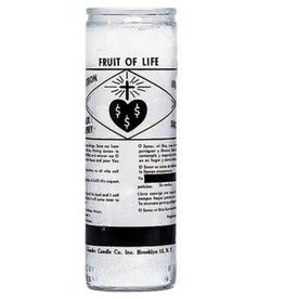 Fruit Of Life  7 Days Candle