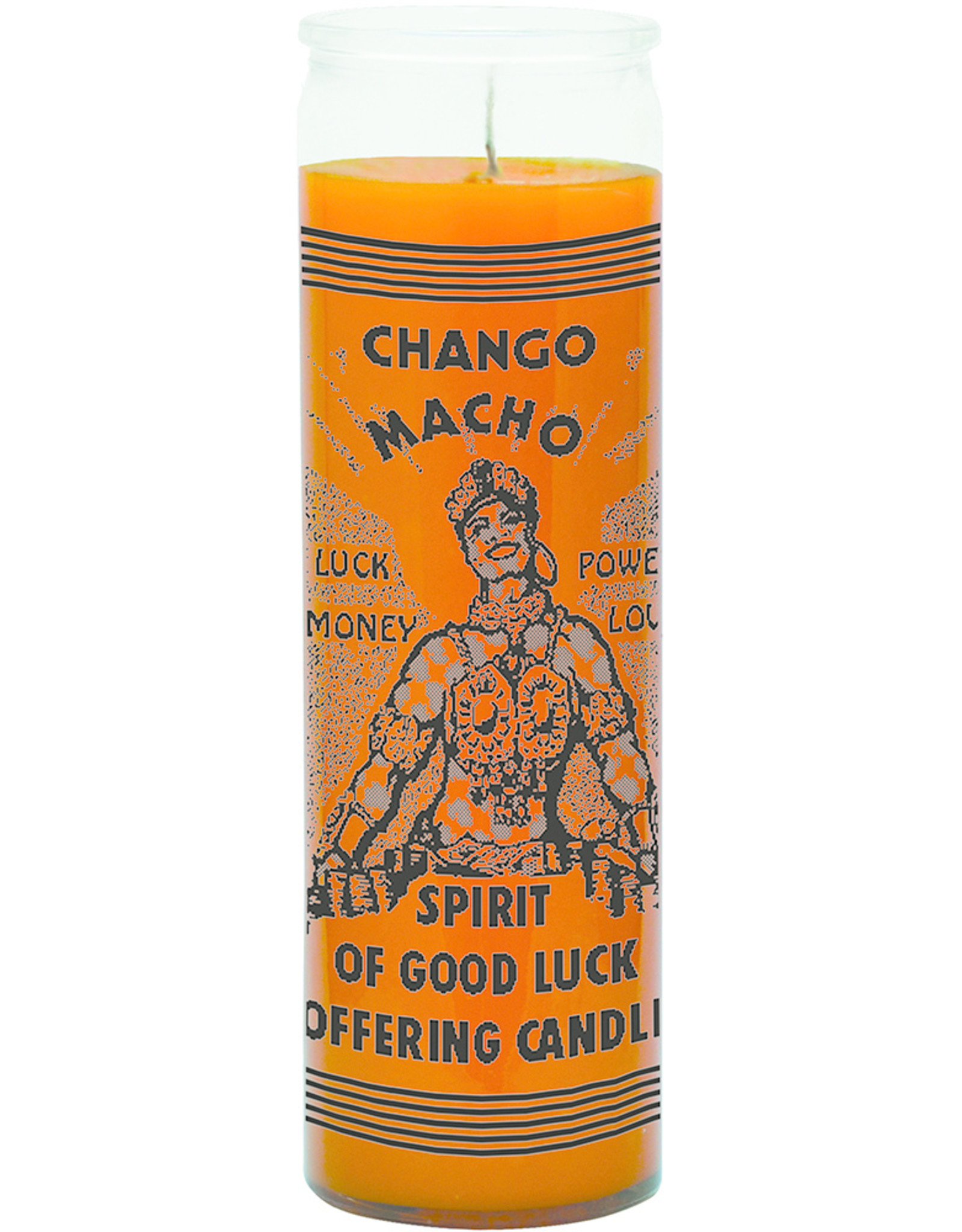 Good Luck  Chango 7 Days Candle
