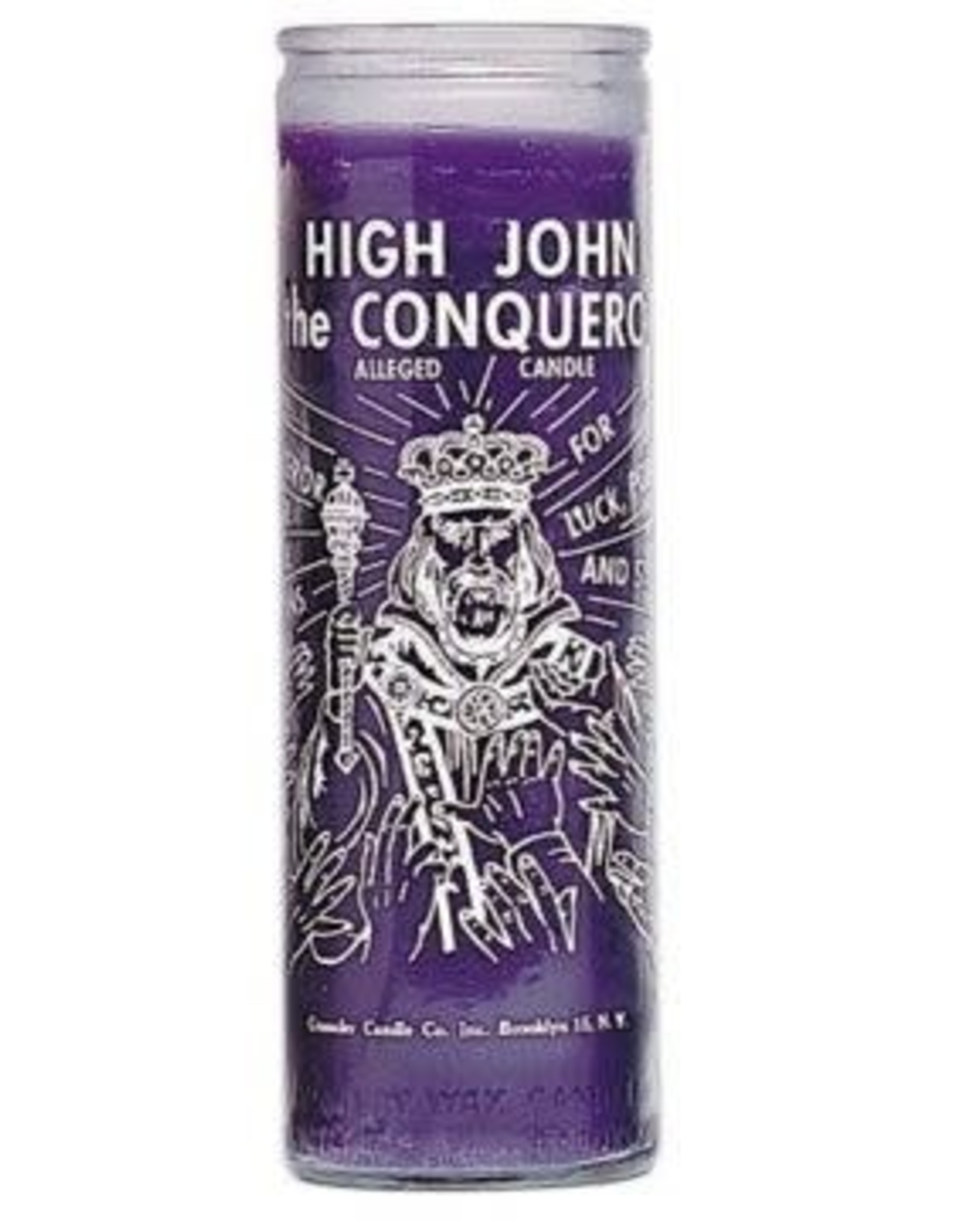 High John Conqueror 7 Day Candle