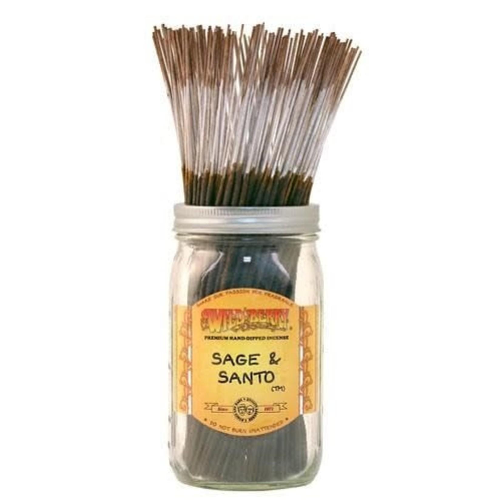 Sage & Santo Incense - Wild Berry