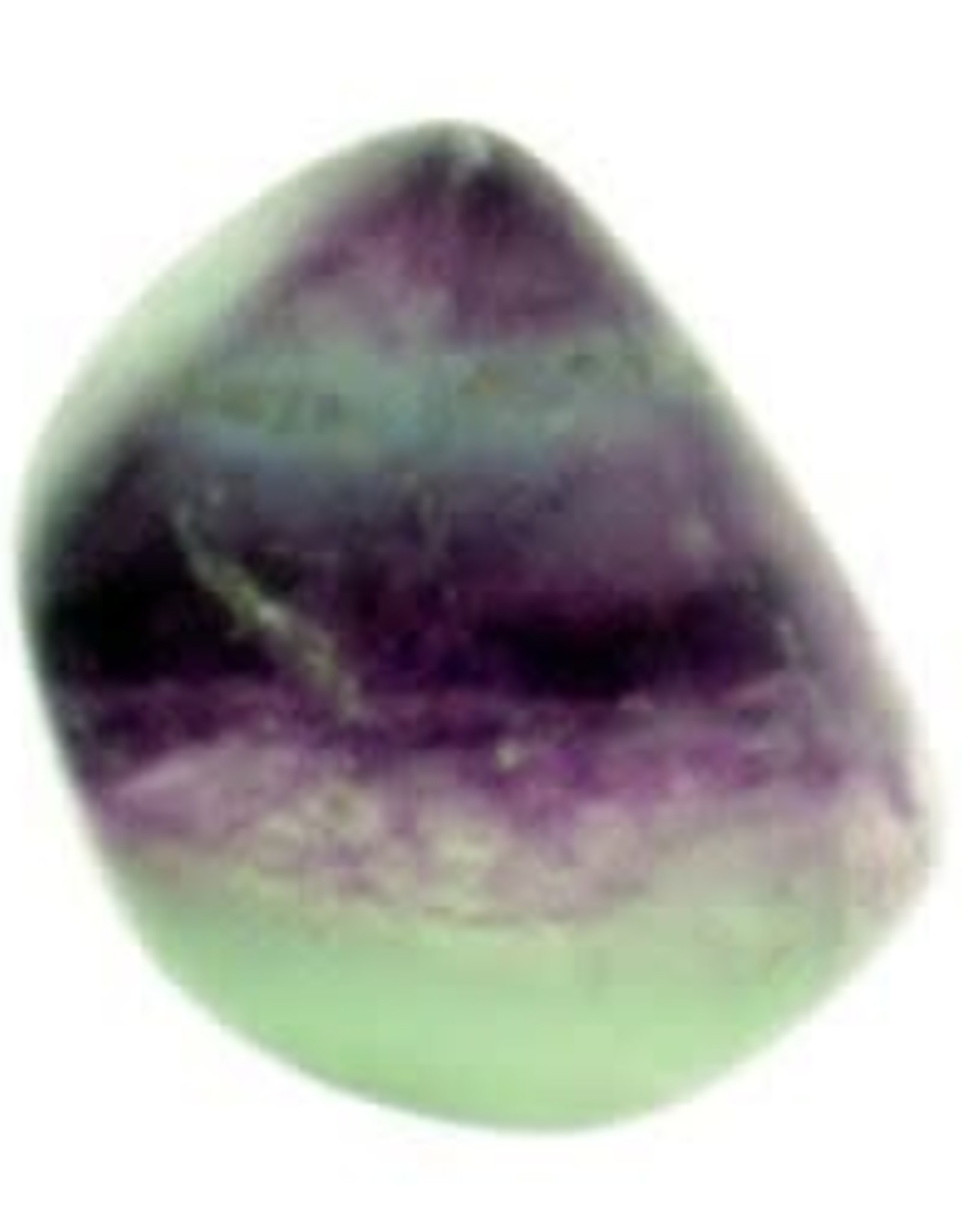 Fluorite Purple And Green Tumbled Stone - Quality A