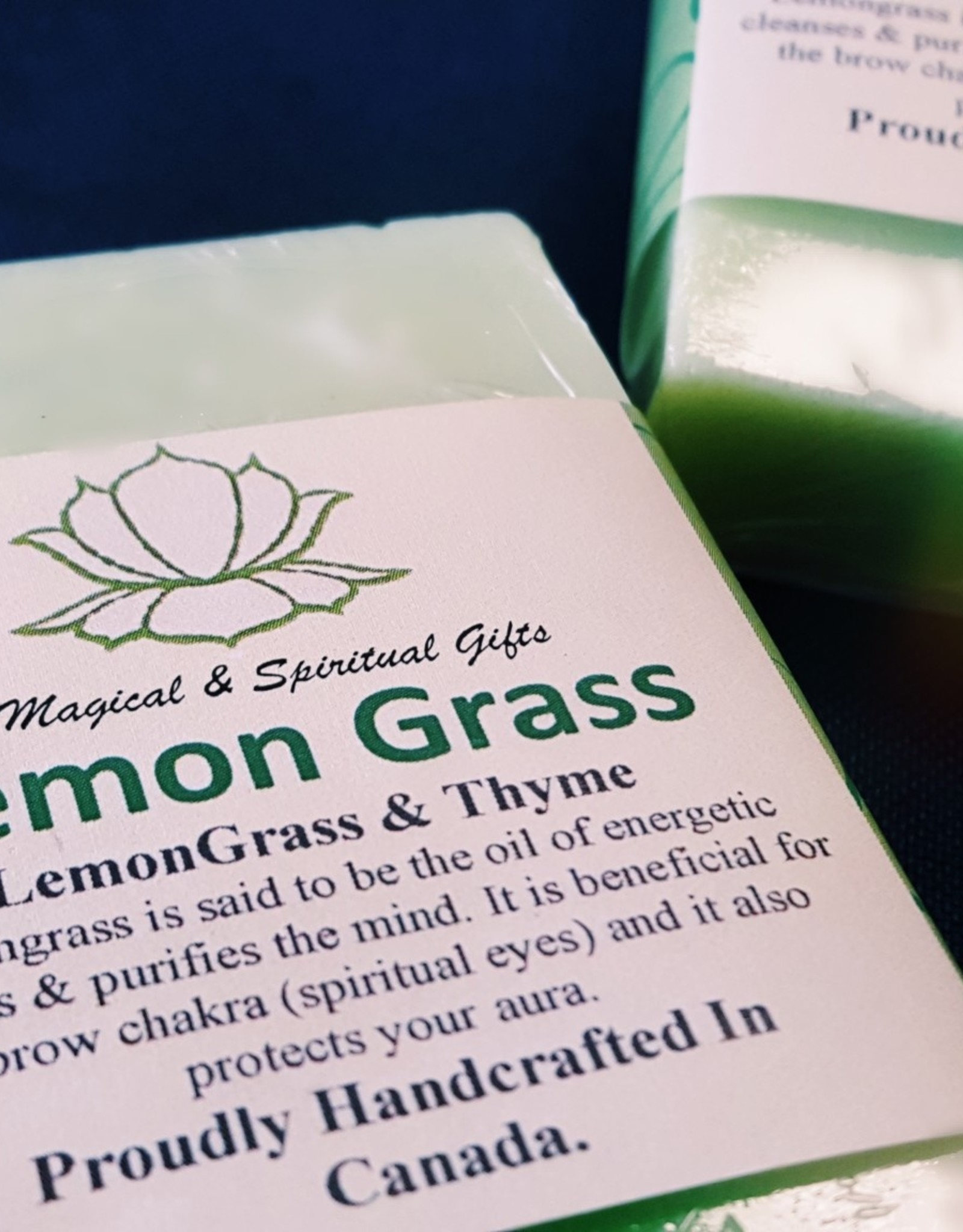 LEMON GRASS CLEANSING SOAP