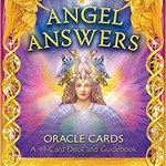 Angel Answers Oracle Cards - 44 Card Deck & Guide Book