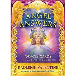 Angel Answers Oracle Cards - 44 Card Deck & Guild Book