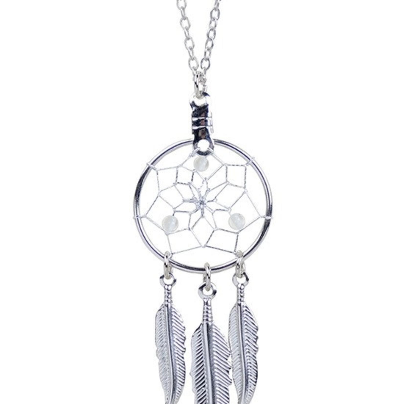 April Dreamcatcher Birthstone Necklace