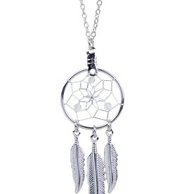 April Dreamcatcher Birthstone Necklace