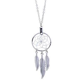 June Dreamcatcher Birthstone Necklace