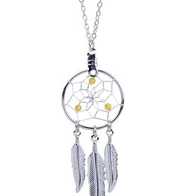 December Dreamcatcher Birthstone Necklace