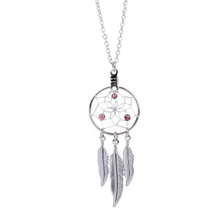 January Dreamcatcher Birthstone Necklace
