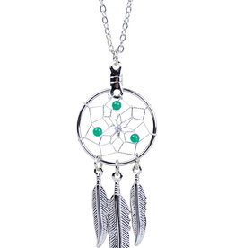 May Dreamcatcher Birthstone Necklace