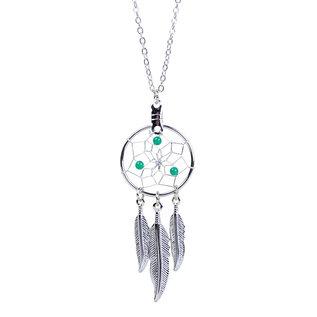 May Dreamcatcher Birthstone Necklace