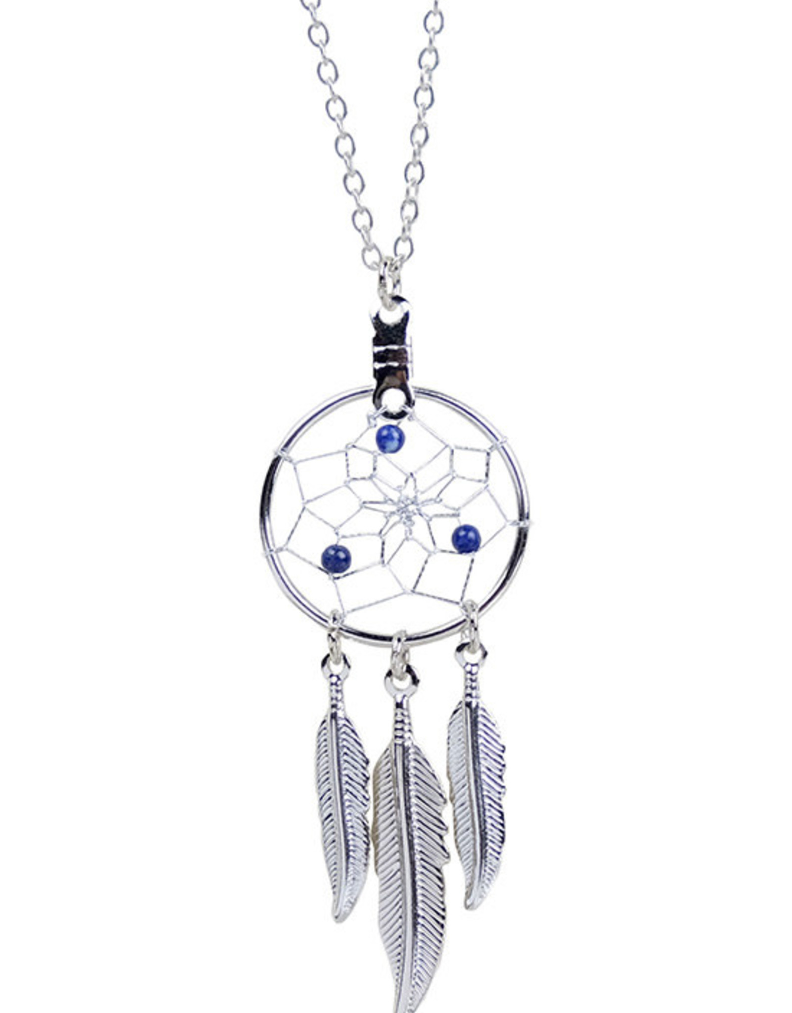 September Dreamcatcher Birthstone Necklace