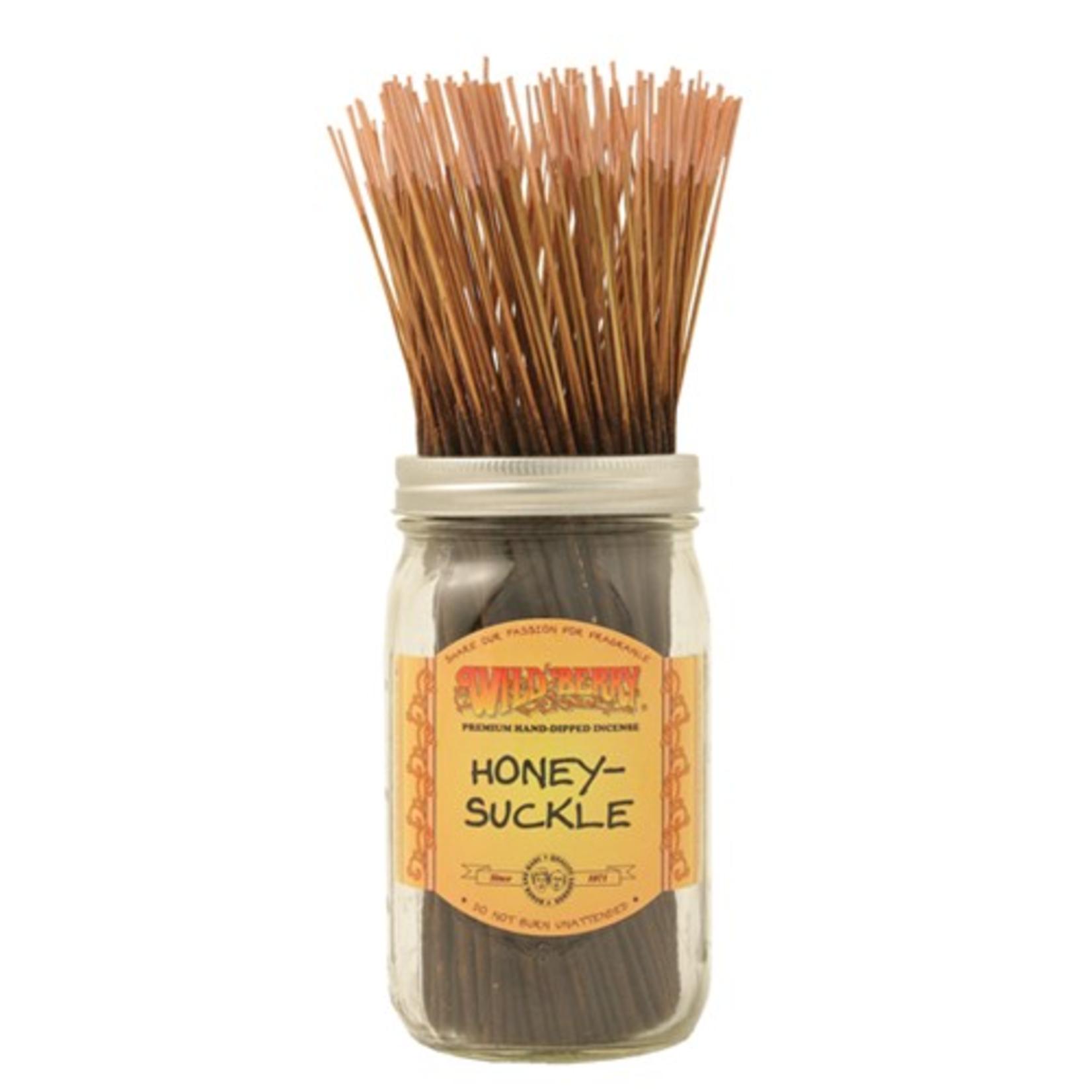 WILDBERRY- Honey Suckle incense