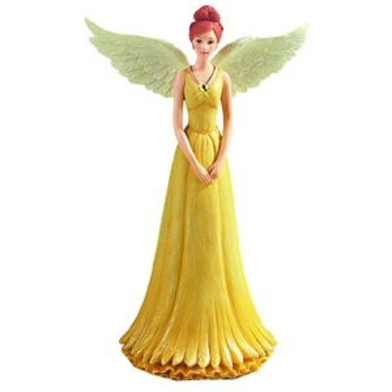 Angel Figurine August -Birthstone