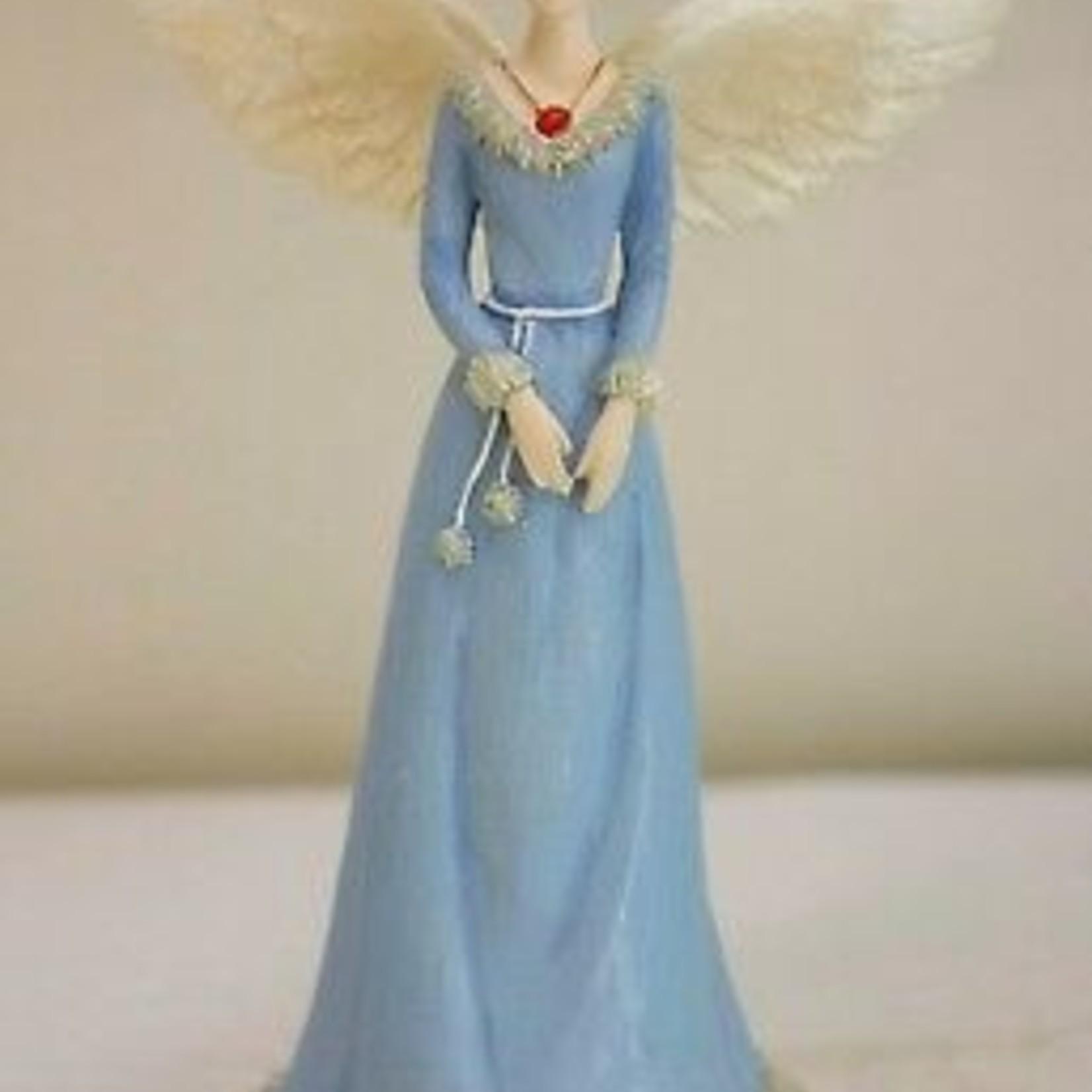 Angel Figurine January Birthstone
