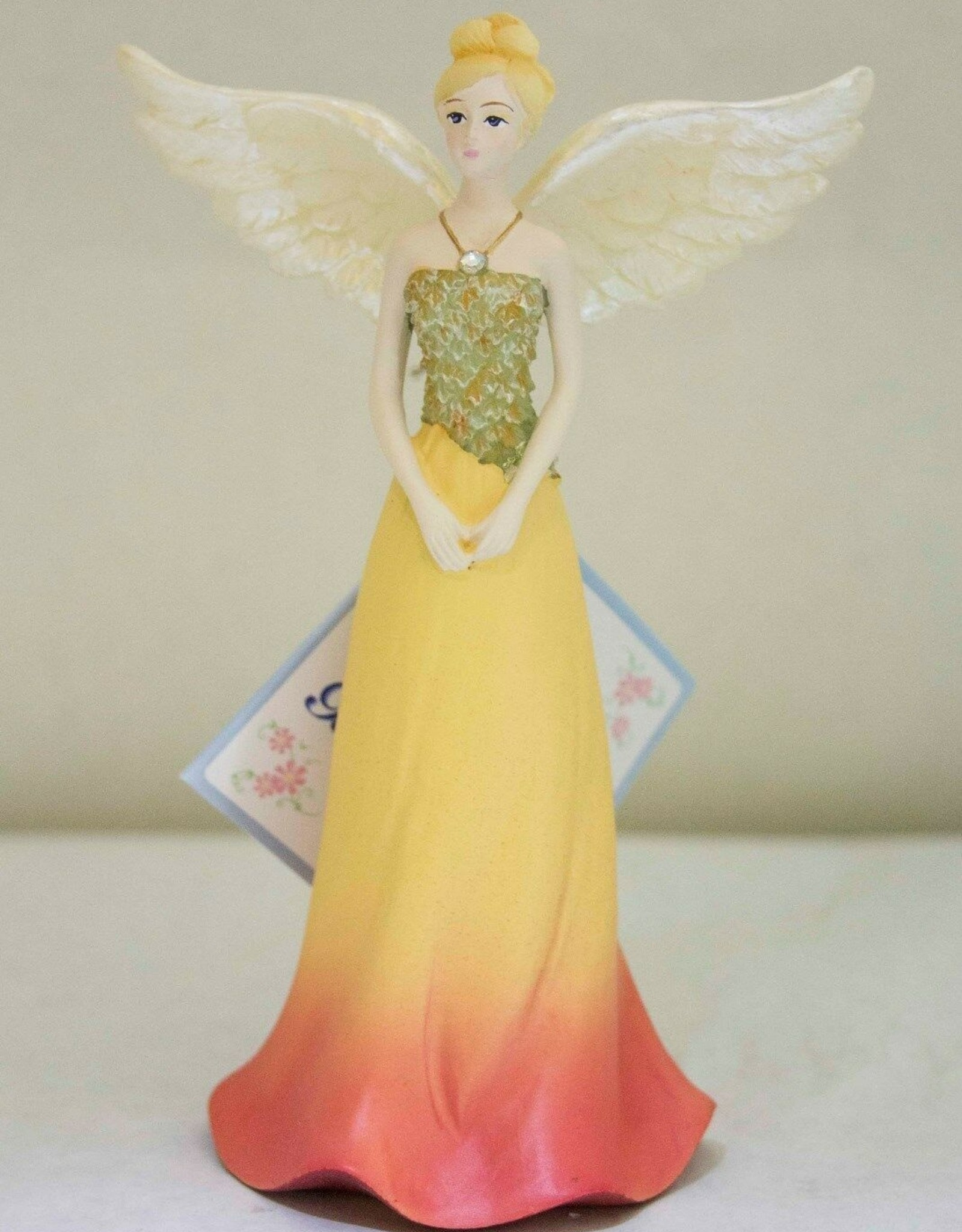 OCTOBER ANGEL FIGURINE