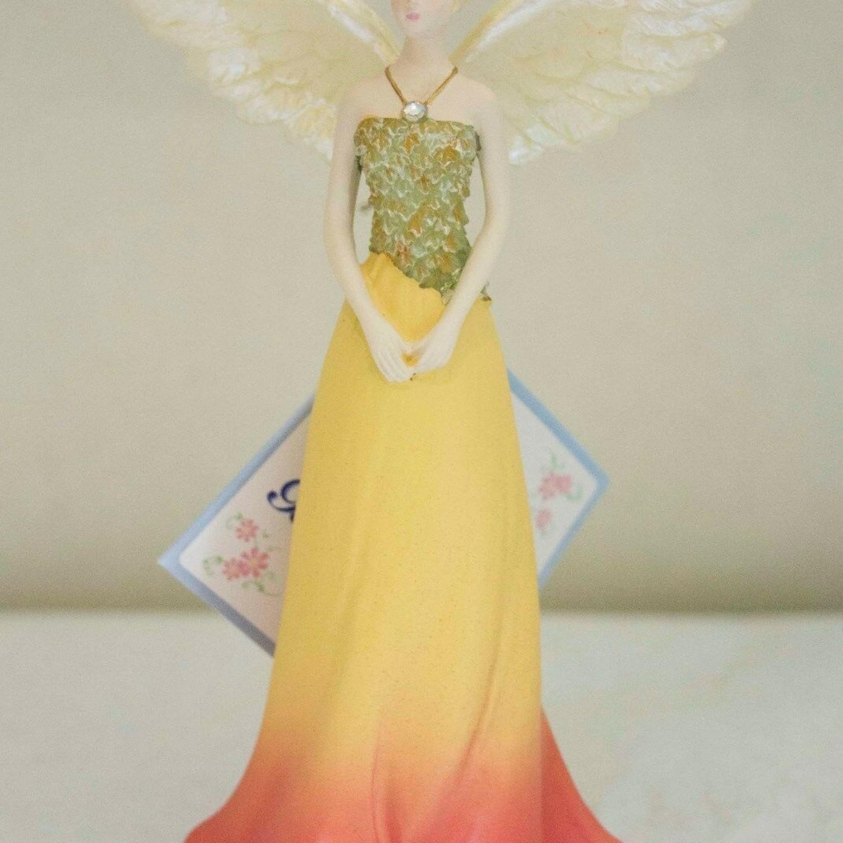 Angel Figurine October Birthstone