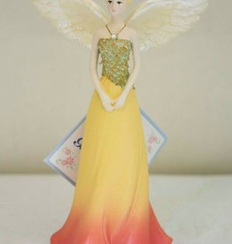 OCTOBER ANGEL FIGURINE