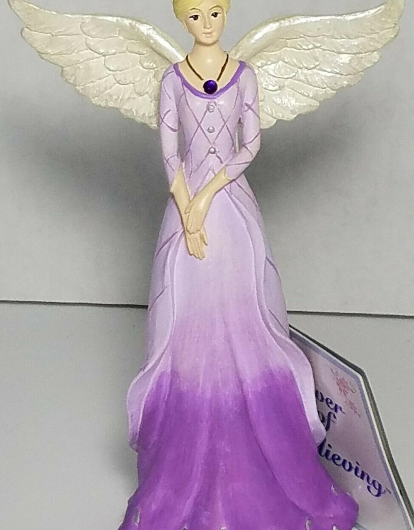 FEBRUARY ANGEL FIGURINE