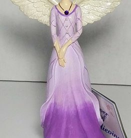 FEBRUARY ANGEL FIGURINE
