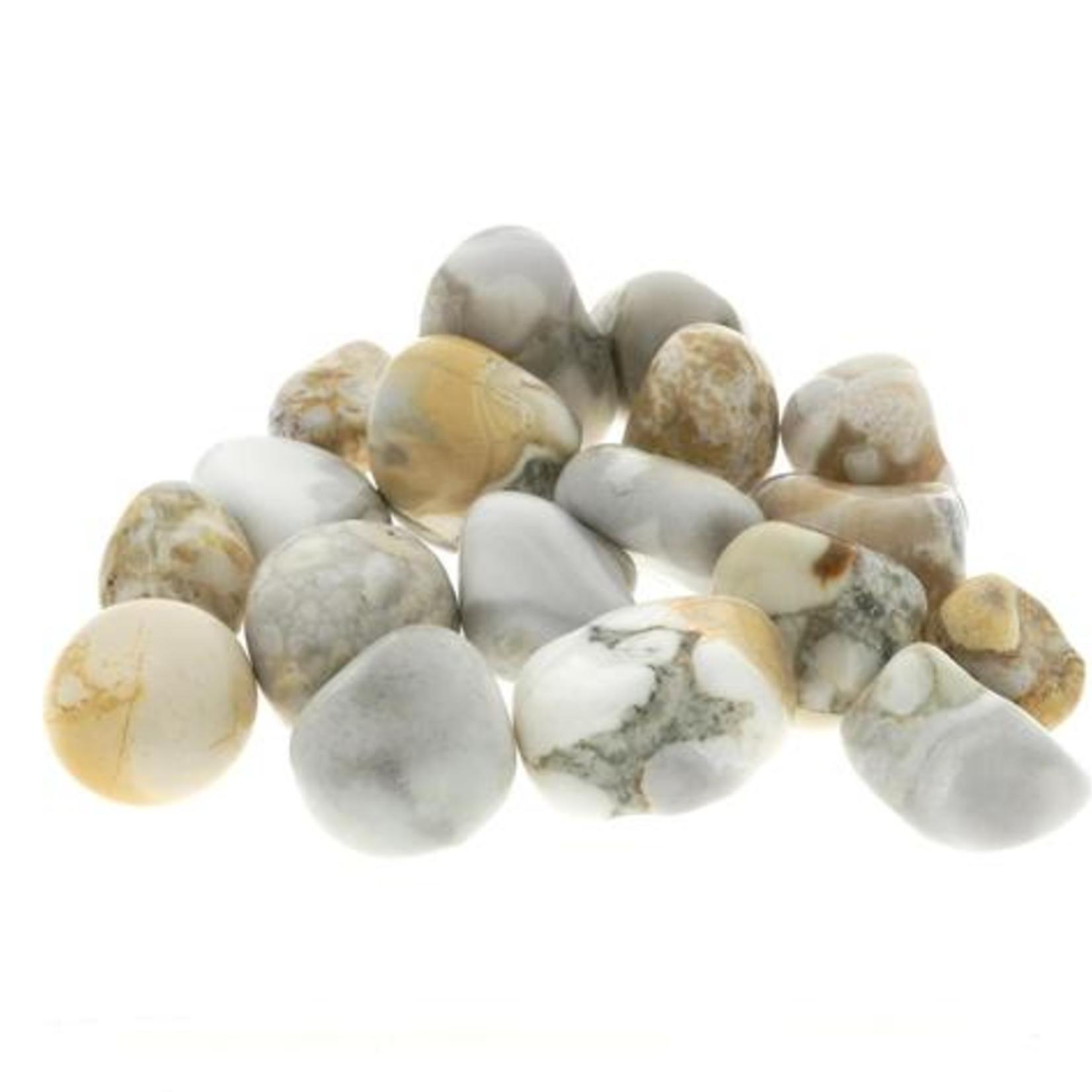 Orbicular Jasper Tumble Stone - M