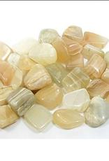Moonstone Tumble Stone - Med
