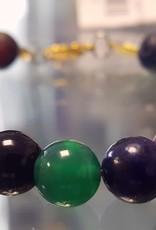 Lava Stone Assorted  Stone Bracelet