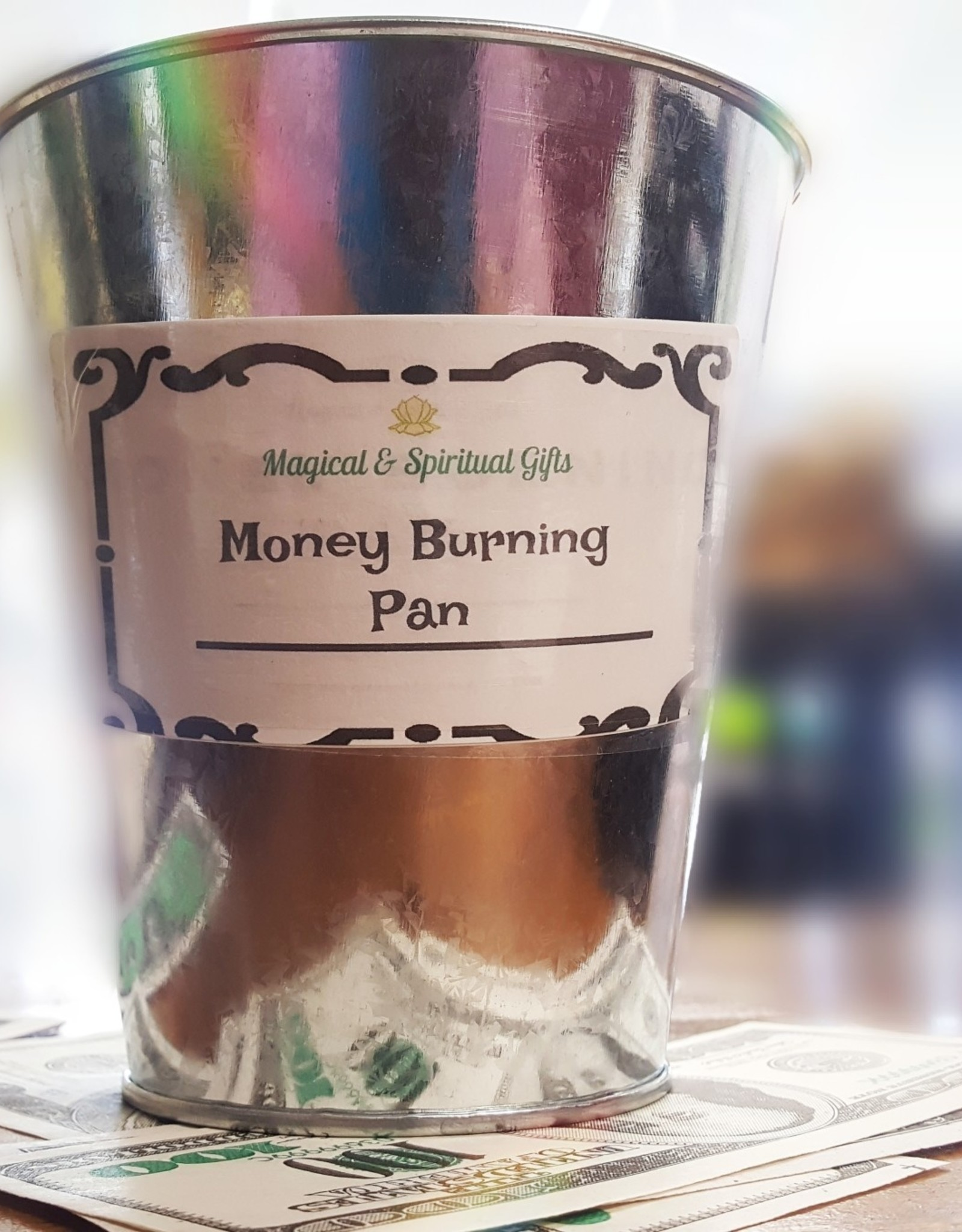 Money Burning Pan