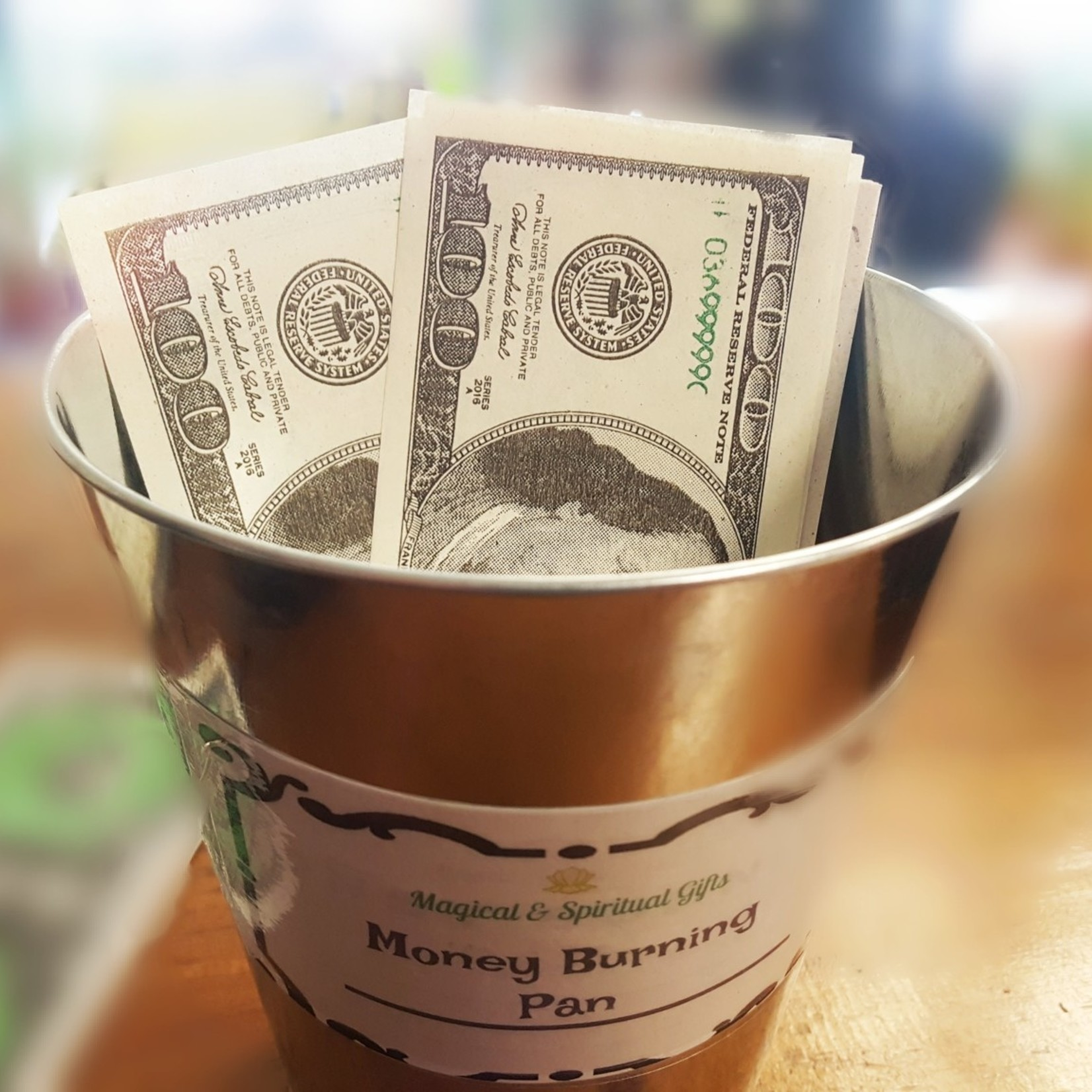 Money Burning Pan