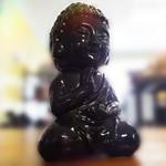 Meditating Chi Buddha Black