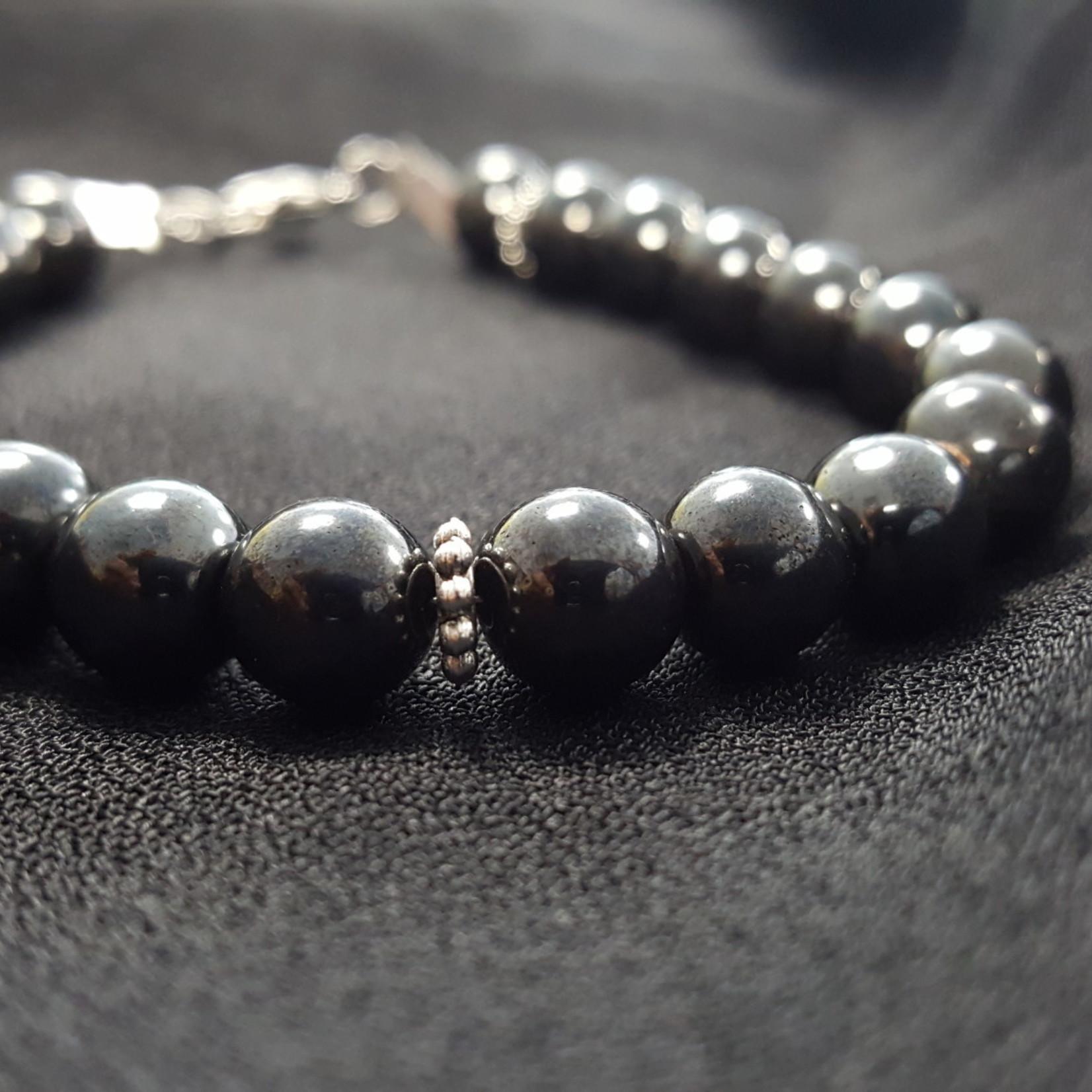 Magnetic Hematite w/ Jewels Bracelet