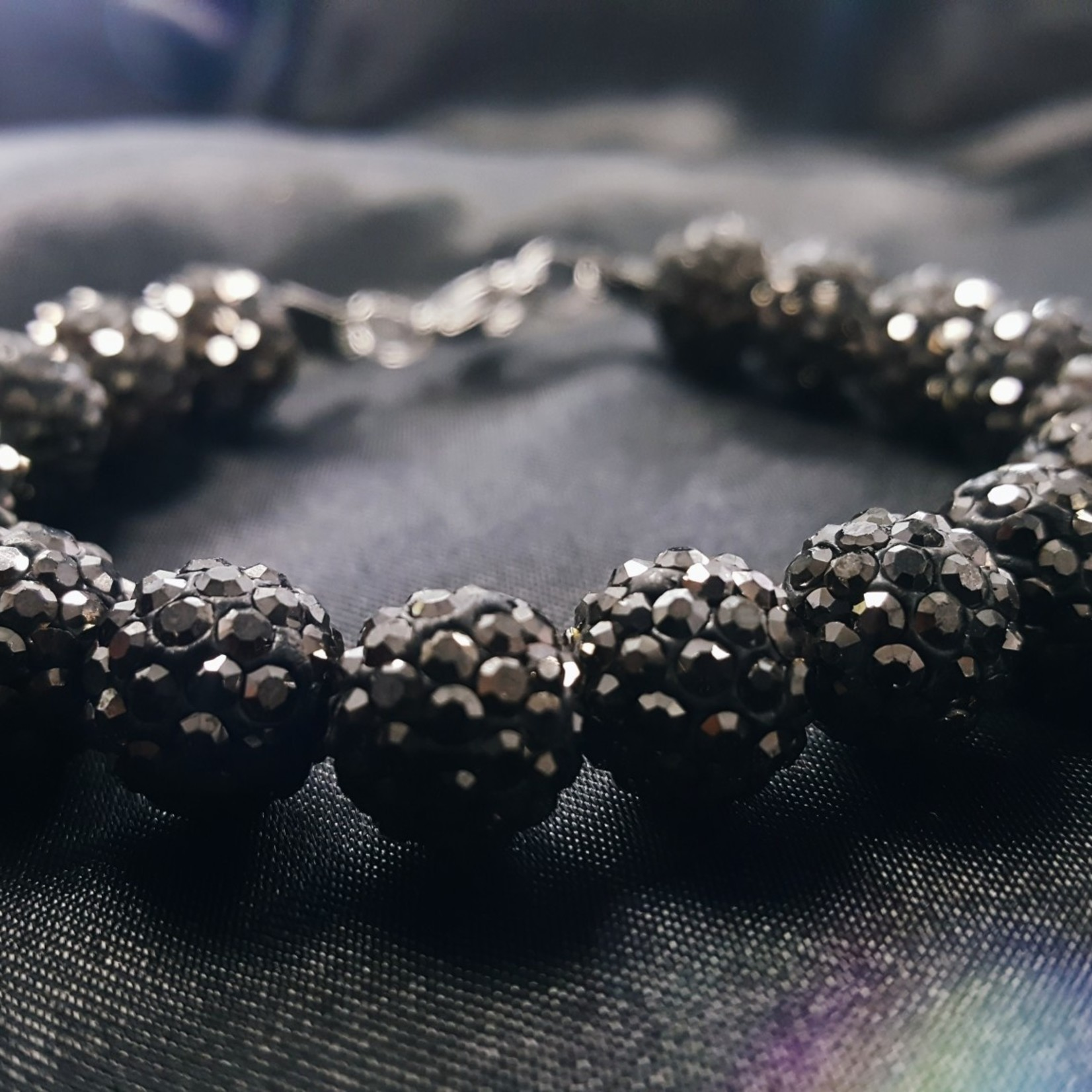 Shambala Hematite Bracelet