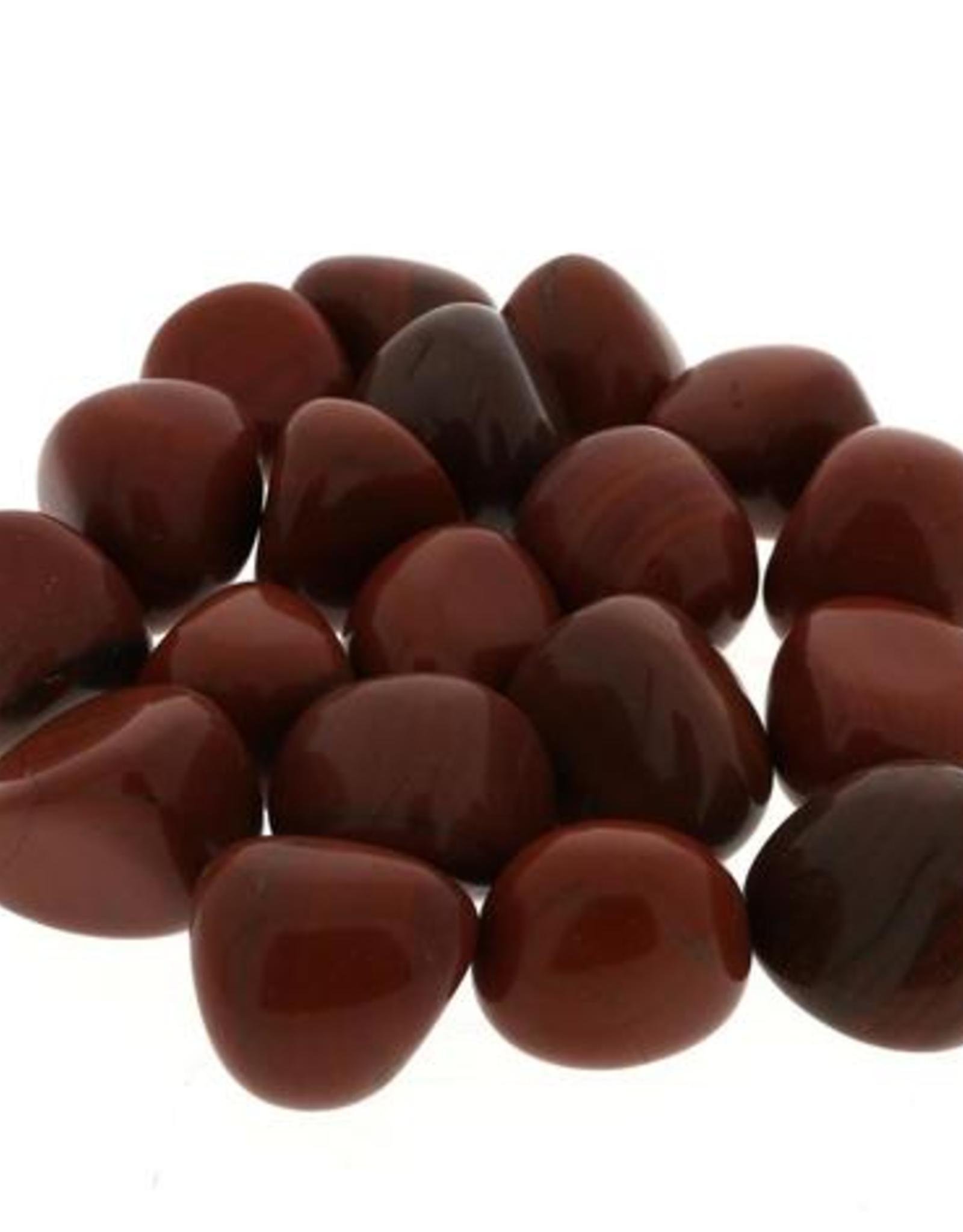 Red Jasper Tumbled Stone-Med
