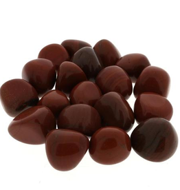 Red Jasper Tumbled Stone-Med