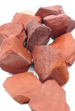 Red Jasper Stone Rough-Med