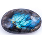 Labradorite Natural Plam Stone (099)