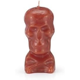 Red Skull Candle