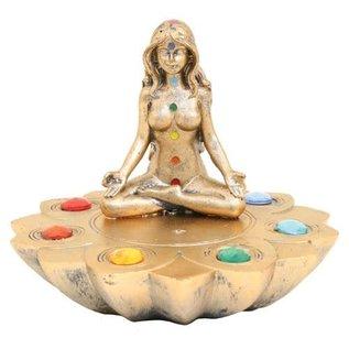 Meditation  Flower Incense Burner
