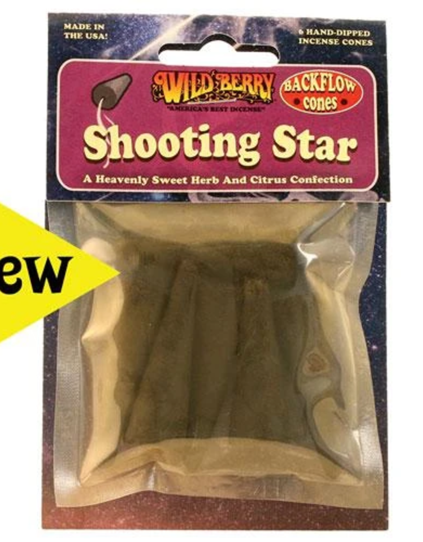 Wildberry-Shooting Star Incense Cone