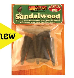 Wildberry- Sandalwood Backflow Incense Cone