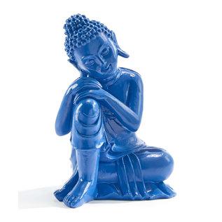 Blue Gutama Buddha