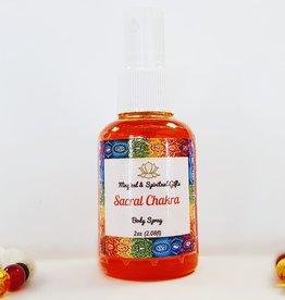 Sacral Chakra- Body Spray