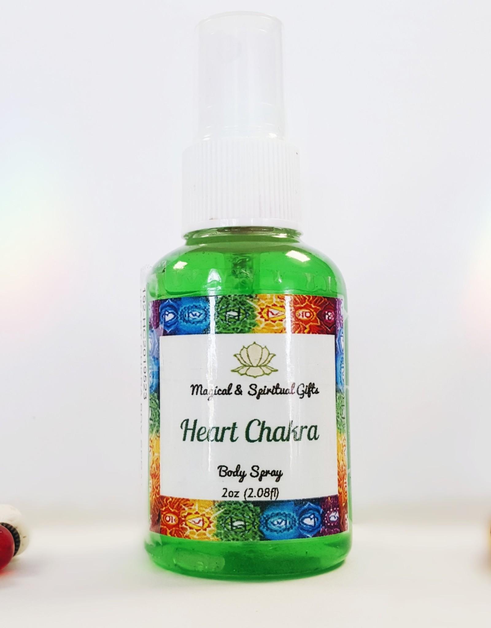 Heart Chakra- Body Spray