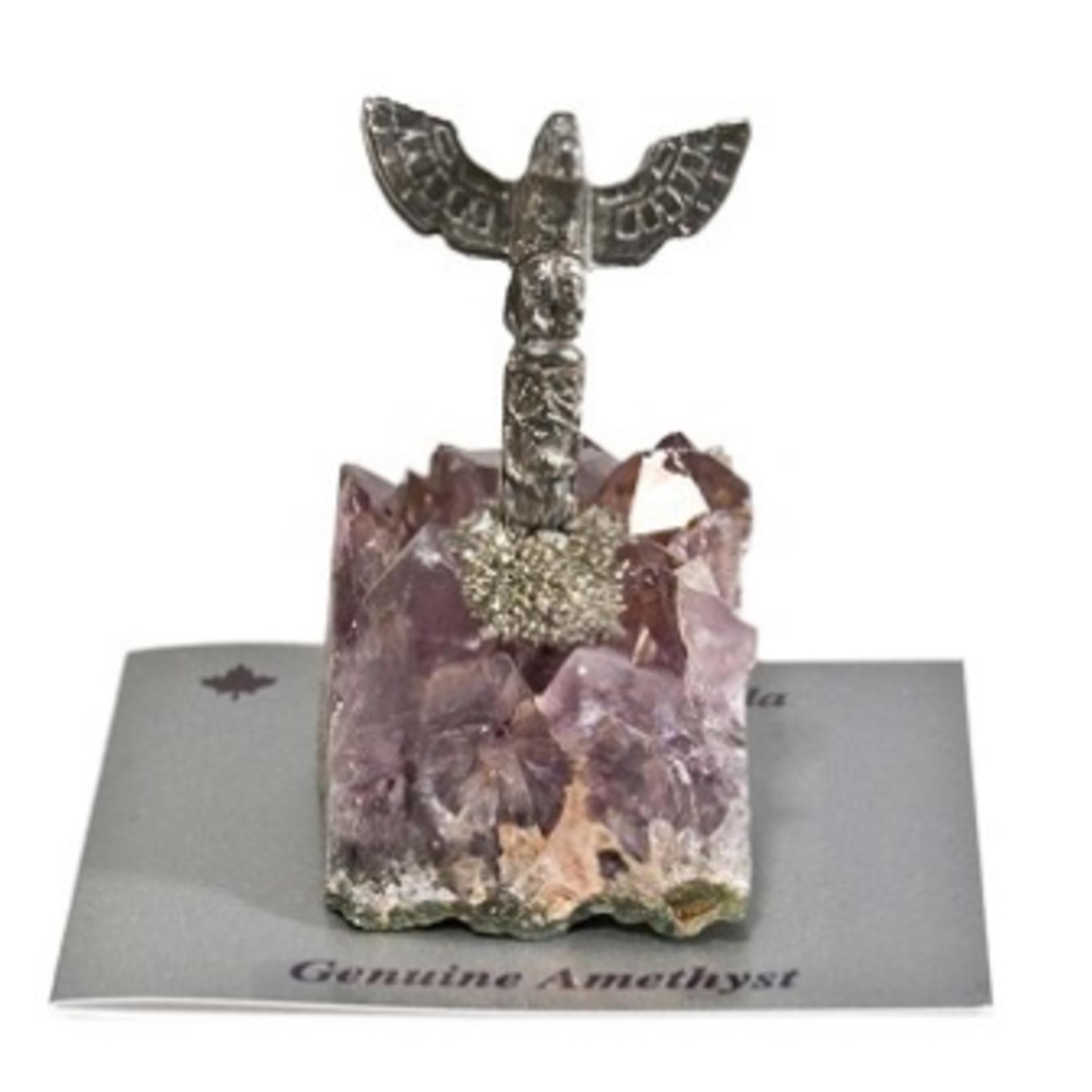 Amethyst Totem Figurine