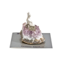 Amethyst Wolf Figurine