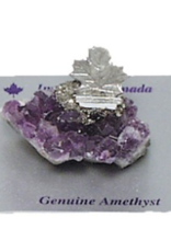 Amethyst Maple Leaf Figurine