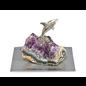 Amethyst Orca Figurine