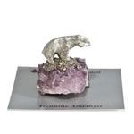 Amethyst Bear Figurine