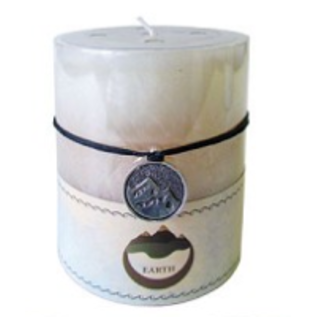 Earth-Nature Element Candle